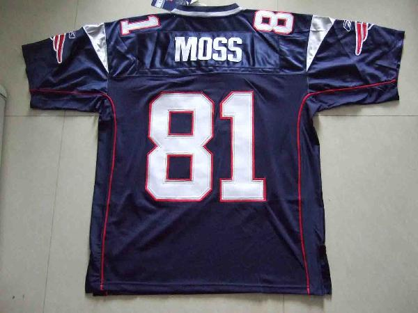 detailed look f10c0 1b7b0 NFL Moss #81 Patriots Jersey T-shirt buy in Bangkok