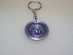 Buy Elephant Circle Keyring