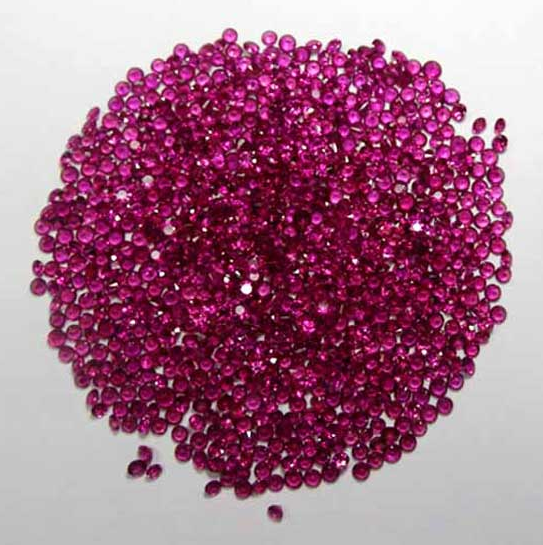 Buy Round Diamond Cut Ruby