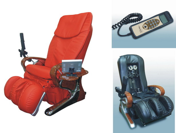 Rolling Roller Shiatsu Massage Chair