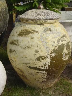 Buy Stoneware pot KM.009-C+Lid