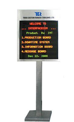 Buy Electronic Information Board Model INFO331
