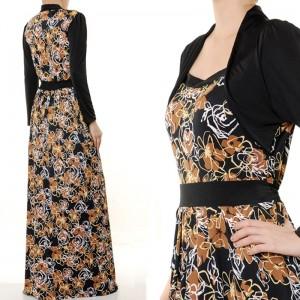 Maxi (Long Sleeves) Dress 1608