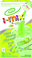 Buy Hi-10 Lime-Honey Flavoured Instant Drink Mix