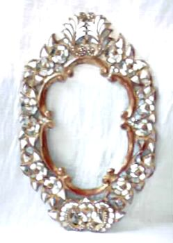 Buy Oval Floral Frame