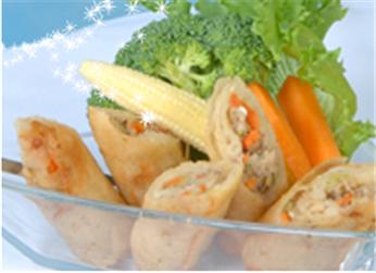 Buy Vegetarian Spring Roll & Taro Spring Roll