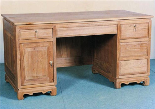 Buy Desk 5-drawers 1 door.