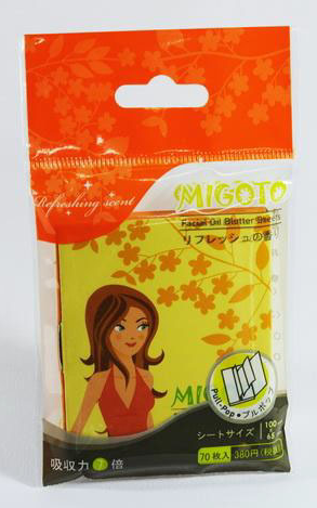 Buy Migoto Facial Oil Blotter Sheets Refreshing Scents