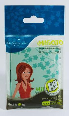 Buy Migoto Facial Oil Blotter Sheets
