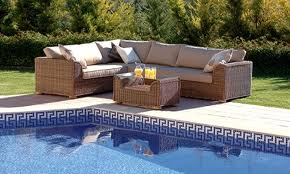 Buy Outdoor Garden Furniture Set Woven