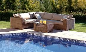 Buy Outdoor Garden Furniture Set Woven