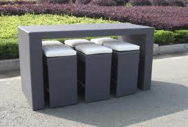 Buy Outdoor Rattan Bar Furniture