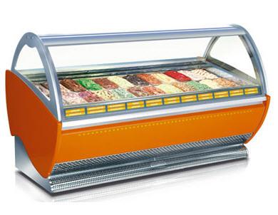 Sevel Ice Cream Showcase