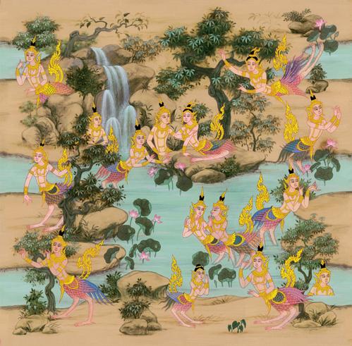 Buy Wallpaper Thai Culture 47-124