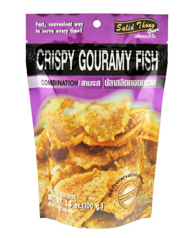 Buy Salid Thong Ready eat Crispy Gouramy Fish COMBINATION