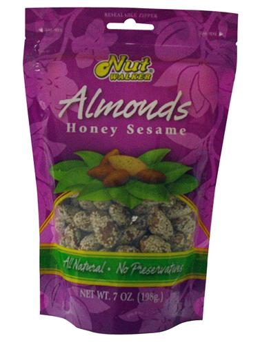 Buy Honey Sesame Almonds