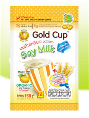 Buy Soybean milk powder grains. The multi-grain Gold Cup brand.