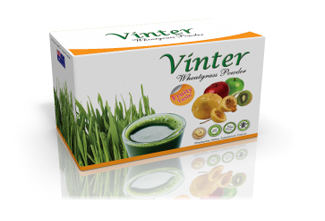 Buy VINTER brand Organic Wheatgrass Fruity (TH-VWG002)