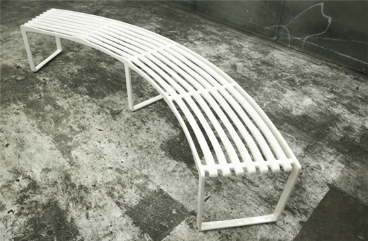 Buy Museum 4-Seat Bench (Concave)