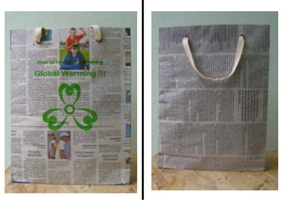 Buy Recycled Newspaper Bag