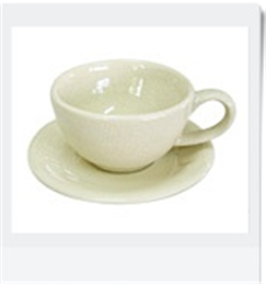 Buy Round Cappucino Cup & Saucer