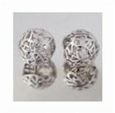 Buy Kate Earring silver flower ball