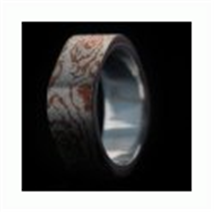 Buy Kate Ring mokume gane Ag Cu ksm137