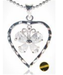 Buy Carved heart pendant