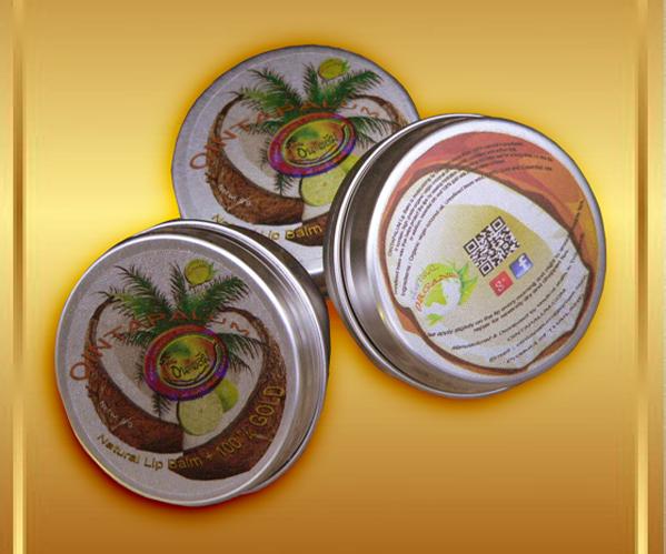 Buy Natural Organic Extra Virgin Coconut Lip Balm [ Thai Lip Balm ]