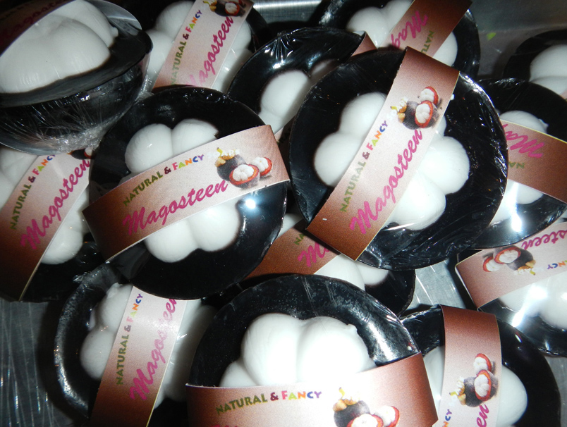 Buy Natural Mangosteen Herbal Fancy Soap Thailand