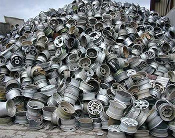 Buy Aluminum wheel scrap