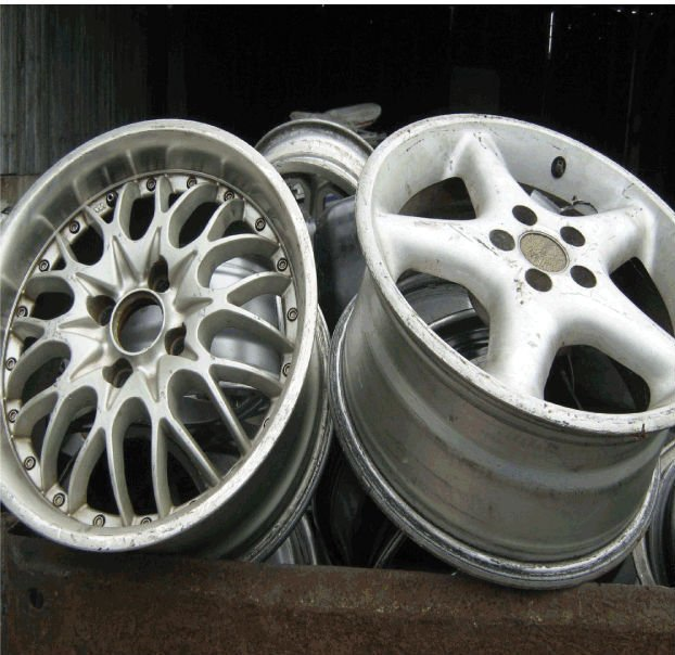 Buy ALUMINUM ALLOY WHEELS SCRAP