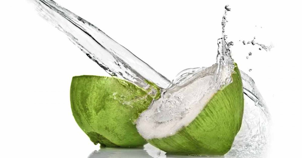Buy Raw coconut water OEM non-HPP 946ml