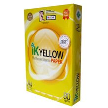 Buy Paper yellow Double A A4 80gsm