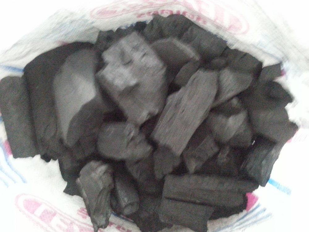 Natural hard wood charcoal TC