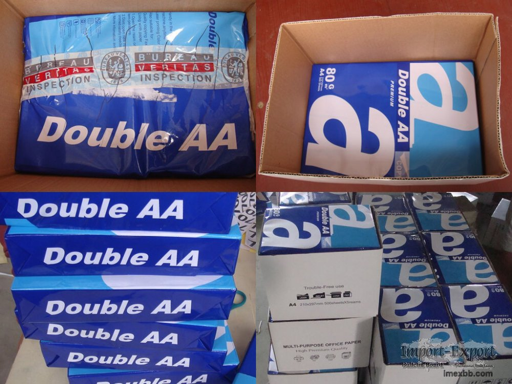 Double A  A4 Copy Paper 80gsm/ 75gsm/ 70gsm
