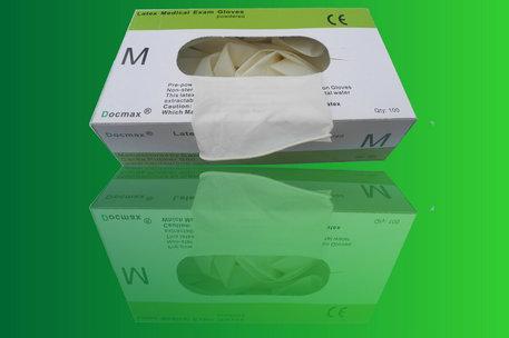 Buy Nitrile Powdered Gloves - Box
