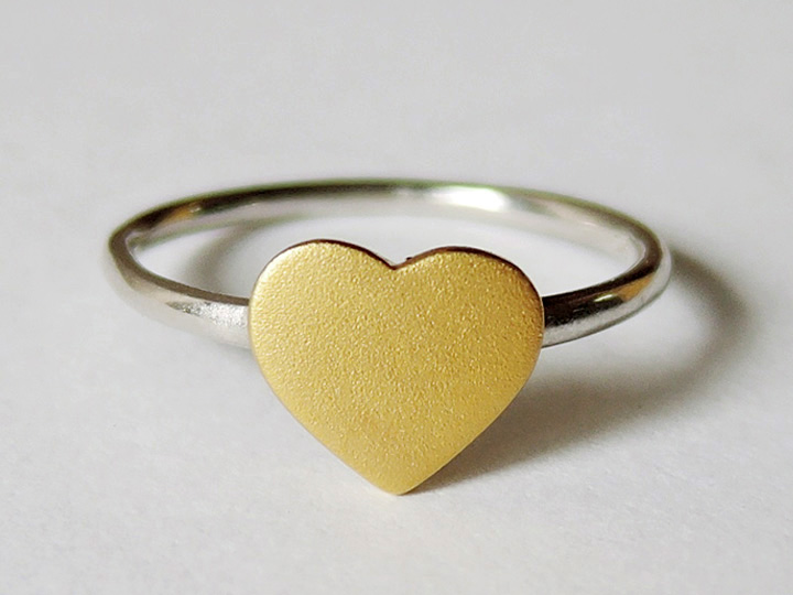 Buy Small Heart Ring