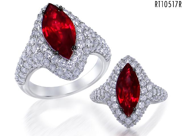 Buy Pigeon Blood Ruby Ring