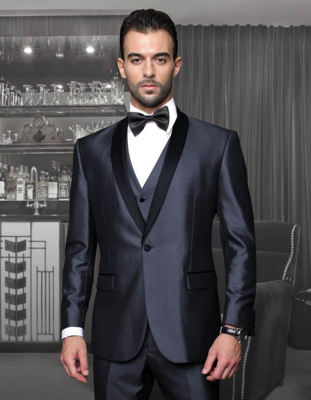 Buy  Custom Tuxedo Wool Suit for Men Fashion 2018