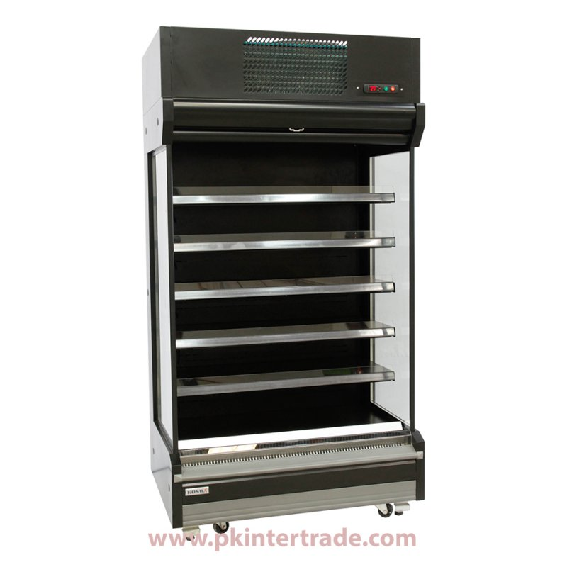Buy Open Type Showcase 120 cm. Plug-In System / Top Compartment