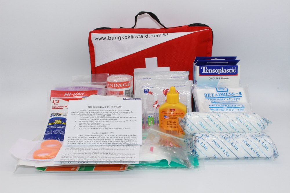 Buy SOFT-SIDED FIRST AID KIT 100 PCS