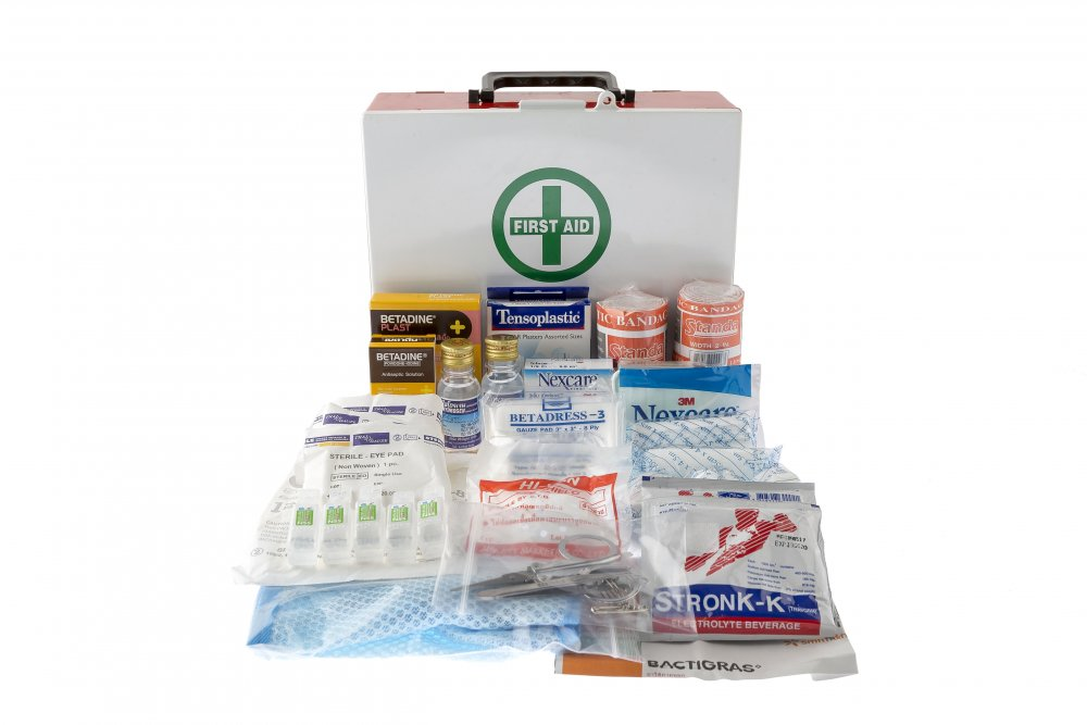 Buy  MOUNTABLE FIRST AID CABINET 130 PCS