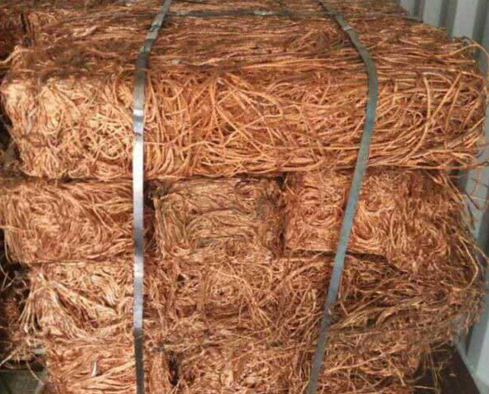 Buy Thailand Copper Wire Scrap / Copper Scrap / Mill Berry Copper 99.99% Export