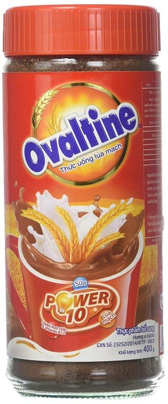 Buy Ovaltine Powdered Drink Plastic Jar 400g