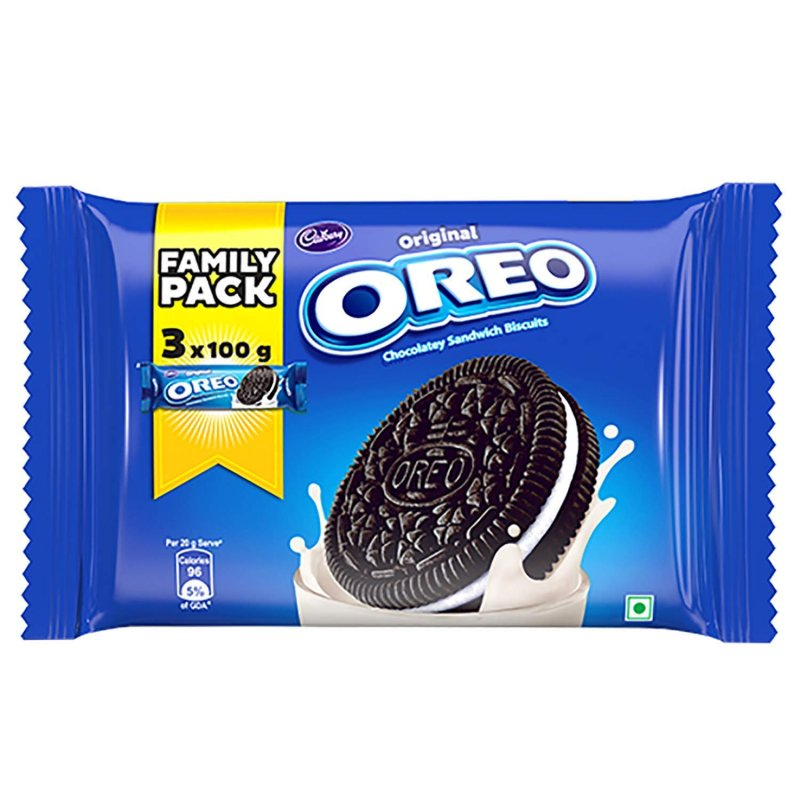 Buy 240g oreo flavor chocolate wafer biscuit with cream filling