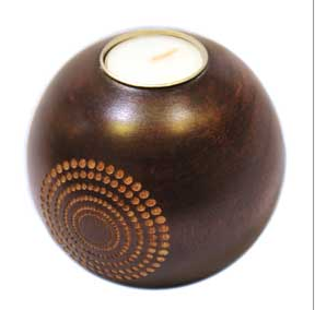 Buy Wooden candle holder