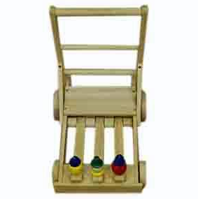 Buy Wooden toy trolley