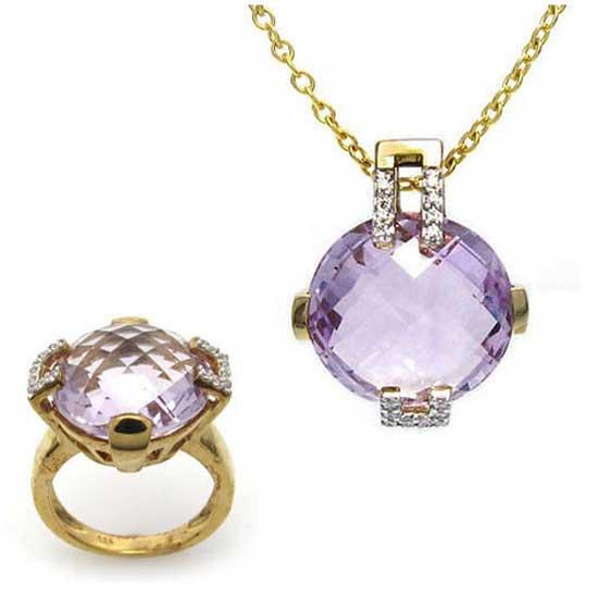 Buy Fine Gold Jewelry Set