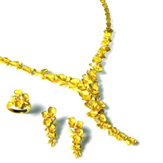 Buy 24K Gold Jewellery Set